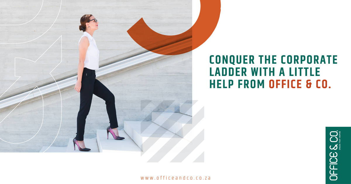 Conquer the corporate ladder | Office and Co | Gauteng