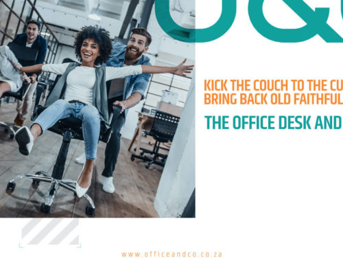 Kick the couch to the curb and bring back old faithful: The office desk and chair